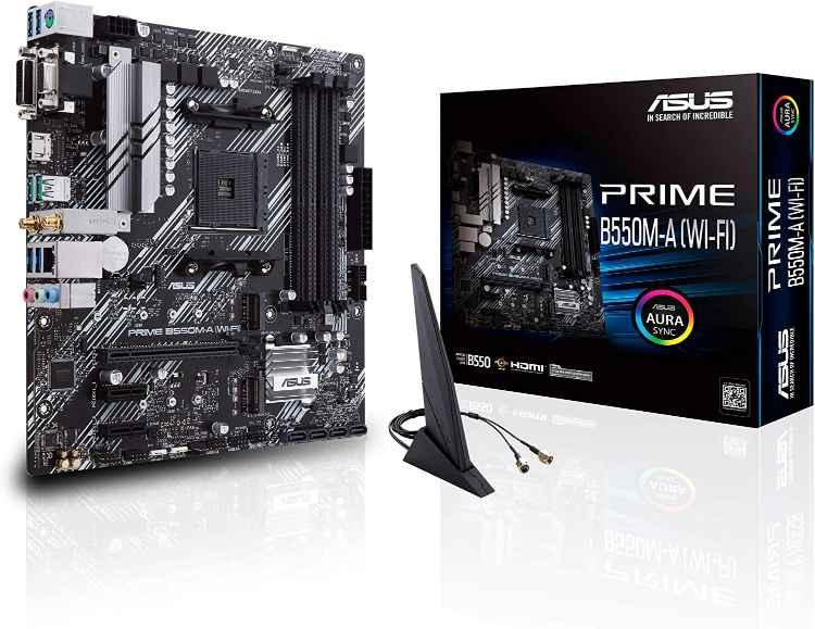 ASUS Prime B550M-A WiFi