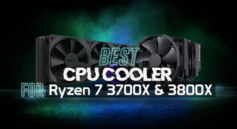 Best CPU Cooler for Ryzen 7 3700X 3800X