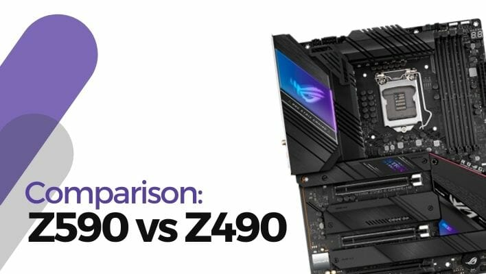 Comparison: Z590 vs Z490 Motherboard, Which One is Better Choice?